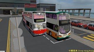 omsi 2 tour (1662) kmb / nwfb 115 (partial) 中環 港澳碼頭 - 九龍城碼頭(只由 紅磡 康莊道 開始) @ Volvo B9TL 12m