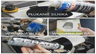 Płukanie i Ochrona Silnika - Liqui Moly CeraTec & Engine Flush & GM 10W40