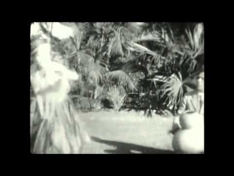 1928 vintage film Honolulu, Oahu, Hawaii