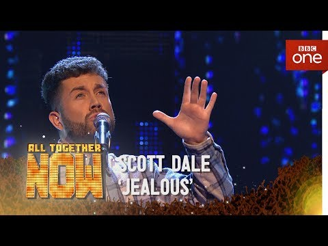 Scott Dale performs