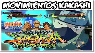 Naruto Shippuden Ultimate Ninja Revolution - » Movimientos Kakashi Hatake « - [HD]
