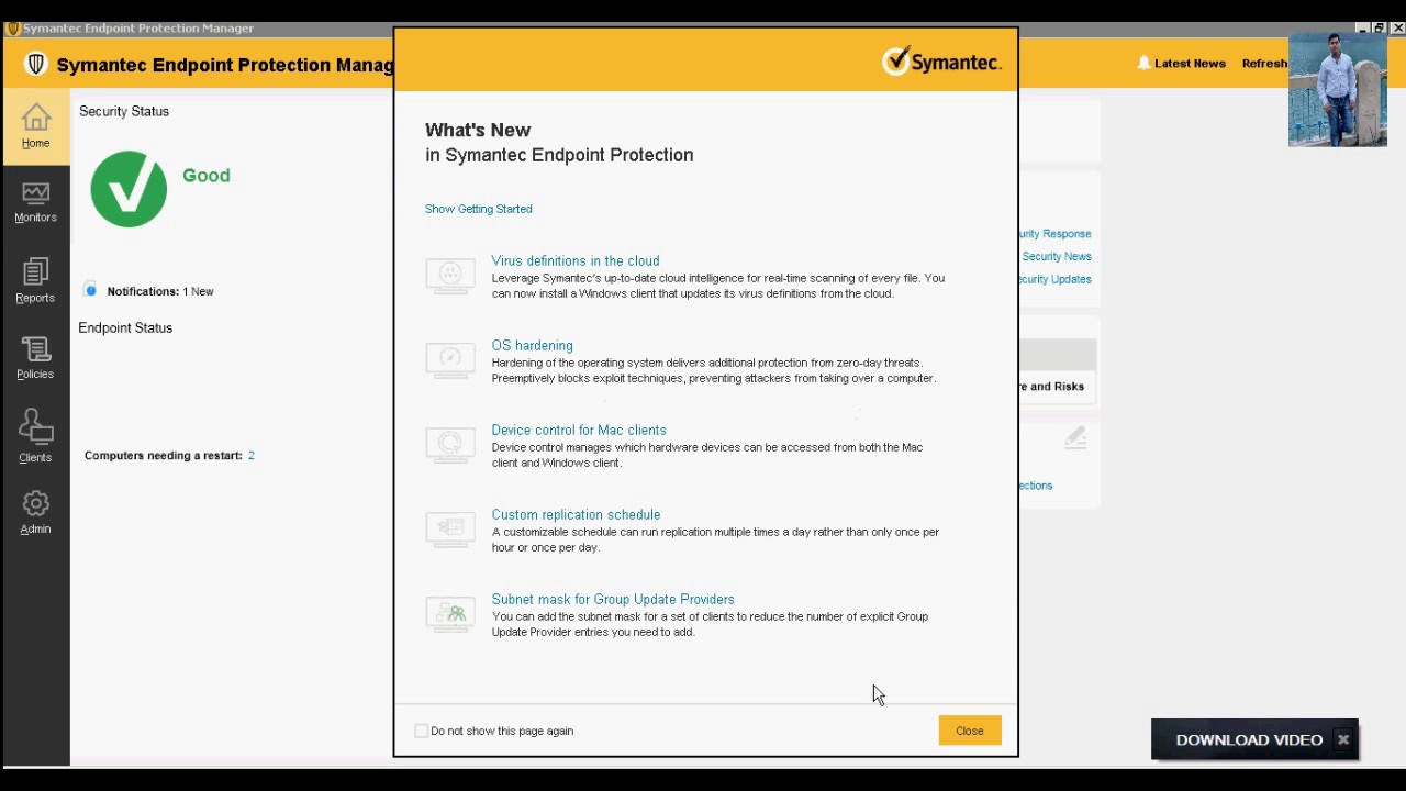 Symantec endpoint protection clients not updating