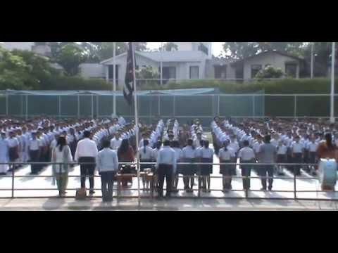 903 Students of Amity International School, Sector 43, Gurgaon sing Jana Gana Mana in 52 Seconds