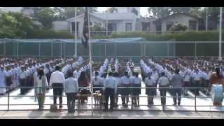 903 Students of Amity International School, Sector 43, Gurgaon sing Jana Gana Mana in 52 Seconds