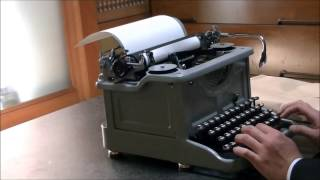 電信用和文タイプライター(Japanese Telegram Typewriter)