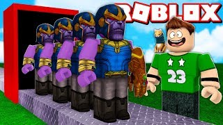 OUR OWN MANUFACTURE OF THANOS in ROBLOX !!