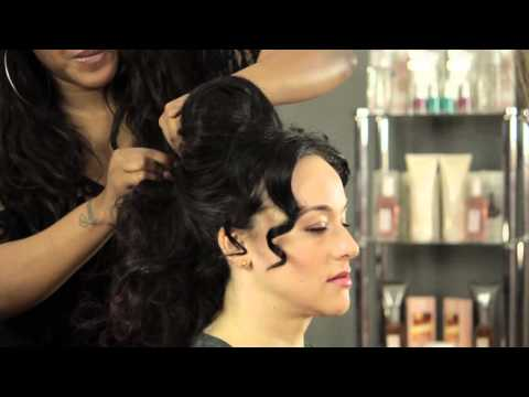 Crazy & Dramatic Updo Styles : Hair Styling & Care