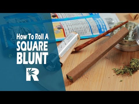 How To Roll A Square Blunt: Cannabasics #63
