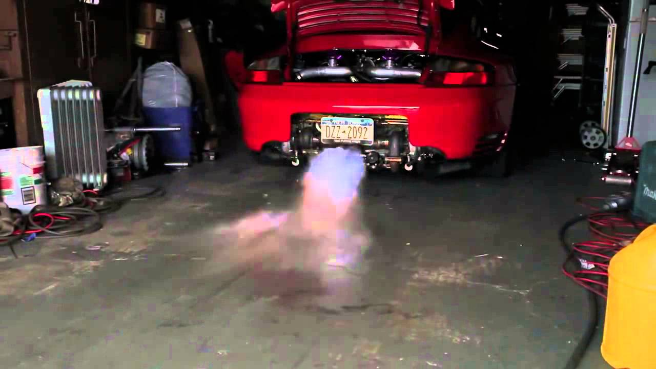 Porsche 911 Fuel Vapor Recovery System Removal