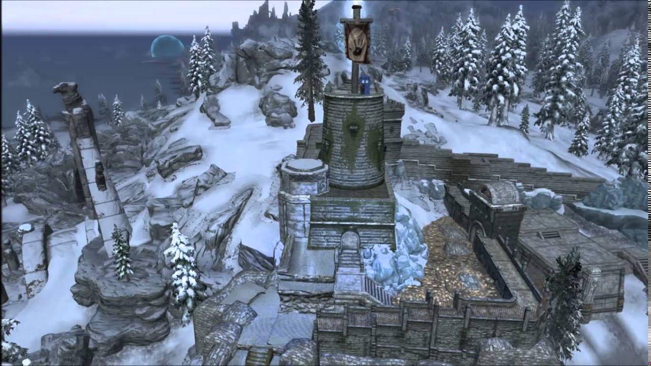The elder scrolls v skyrim huge player home castle mod for Best house designs skyrim
