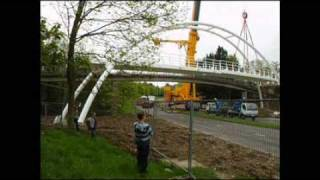 Bracknell: Construction Of Foot Bridge To Great Hollands