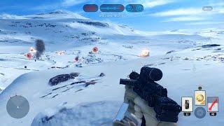 Star Wars: Battlefront Multiplayer Gameplay - Walker Assault on Hoth! (Attack)
