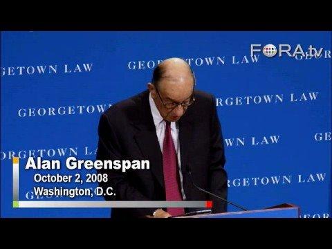 Alan Greenspan - Capitalism and the Economic Crisis