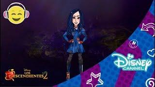 Los Descendientes 2 | Speed Painting: Evie | Disney Channel Oficial