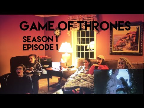 Download Game of Thrones - 1x1 Winter is Coming - Group Reaction