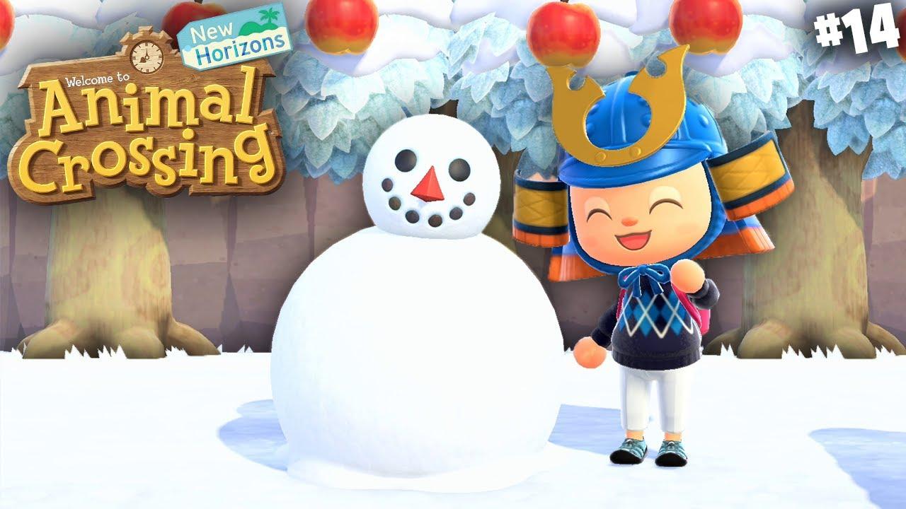 I Made A TALKING SNOWMAN !   Animal Crossing New Horizon EP14 In Hindi