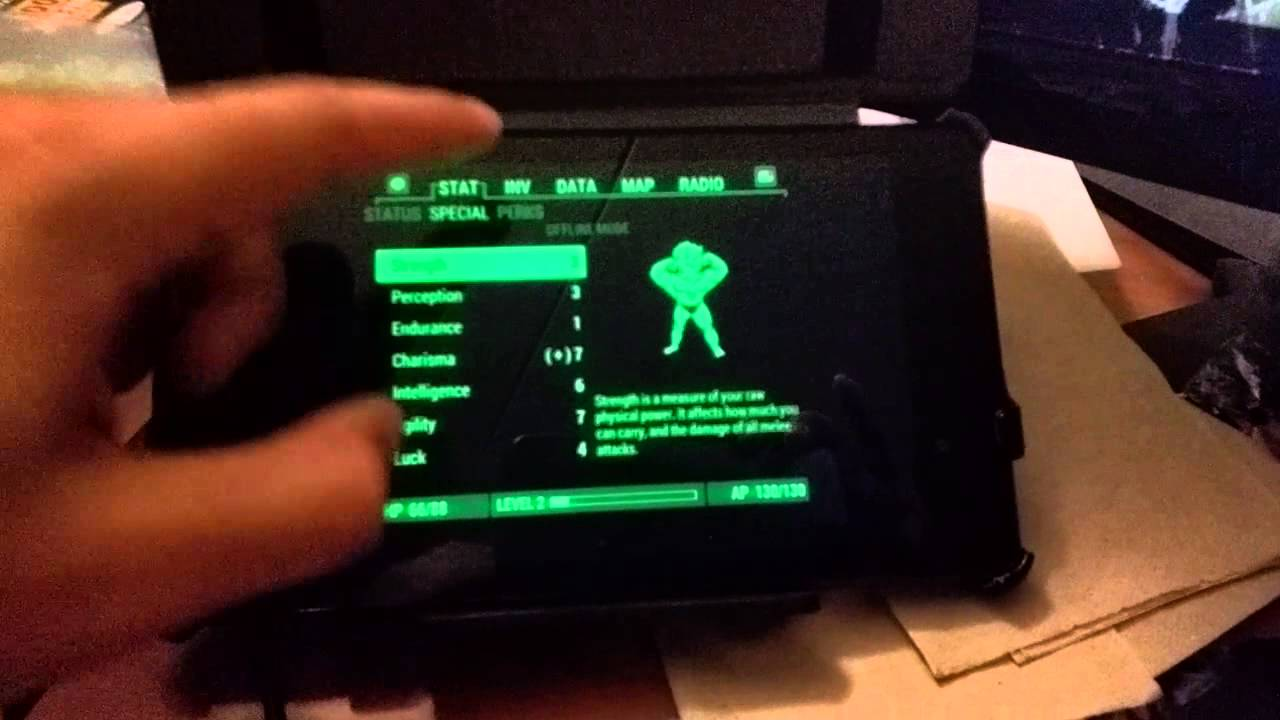 Fallout 4 EP 10 1: The Pip-Boy application can be used in