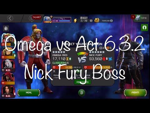 Act 6.3.2 Boss Nick Fury