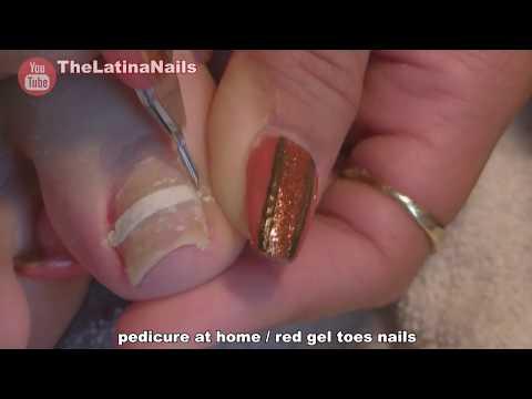 ASMR - medical nail care - toe nails