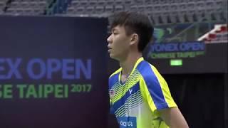 Video Yonex Open Chinese Taipei 2017 | Badminton SF M4-MS | Chou Tien Chen vs Lee Zii Jia download MP3, 3GP, MP4, WEBM, AVI, FLV Agustus 2017