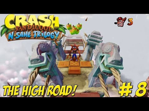 Crash Bandicoot! N-Sane Trilogy: The High Road Part 8 - YoVideogames