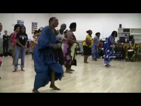 Dance Master Class (5 of 5)- West African Dance
