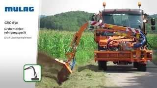 MULAG Grabensohlenreinigungsgerät GRG 650
