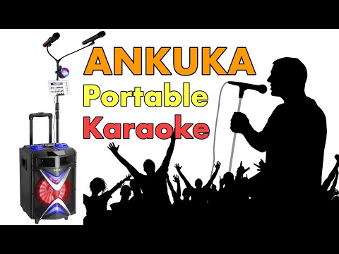 Portable Karaoke Machine ANKUKA Wireless