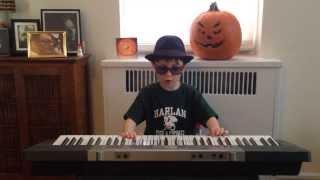 "Harlan & The Dragons teach ""Doe"" on piano"