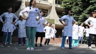 Научный центр акушерства, гинекологии и перинатологии МЗ РК - флешмоб в честь ОСМС