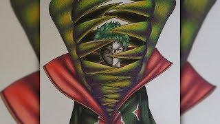 Drawing Zetsu (The Akatsuki Series)