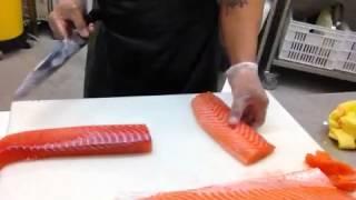 Sushi saumon nice