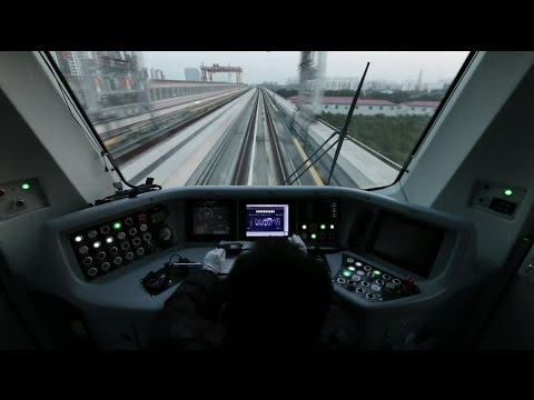 LONGEST UNDERGROUND NETWORK IN THE WORLD - SHANGHAI SUBWAY - BBC NEWS