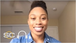 Olympian Allyson Felix adjusting to postponement but ready to compete in 2021 | SC with SVP