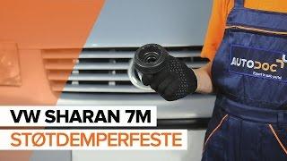 Montering Støtdemperfeste VW SHARAN (7M8, 7M9, 7M6): gratis video