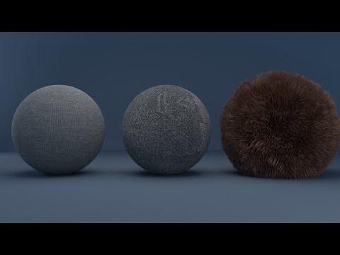 Cycles Material Series : Cloth, Asphalt, Fur