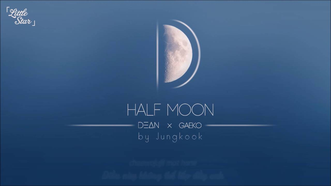 what is the half moon on my iphone vietsub lyrics d half moon dξδn x gaeko jungkook 21223