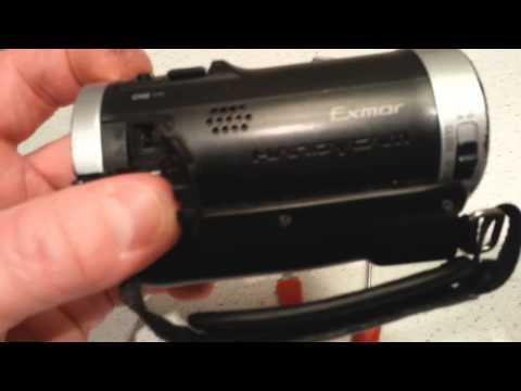 Sony Handycam repair, Intermittent touch screen