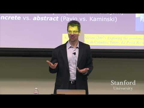 Stanford Seminar - Using Big Data to Discover Tacit Knowledge and Improve Learning