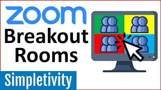 How to use Zoom Breakout Rooms - Tutorial for Beginners