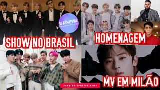BTS E MONSTA X NO BRASIL, NCT 127, LAY E JASON DERULO LANÇA CLIPE, ARMYPEDIA E MAIS! |PK NEWS