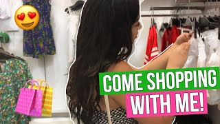 COME SHOPPING WITH ME AT THE MALL!!