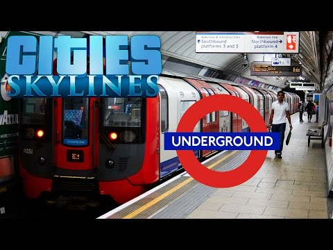 Cities Skylines | Transport Tutorial | Underground Trains