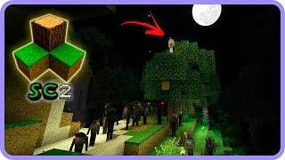 SurvivalCraft 2 - Preso na árvore e cercado por lobisomens [Sobrevivência #15]