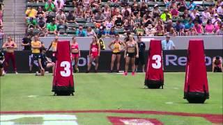 Zig Zag Sprint: Women - 2013 CrossFit Games
