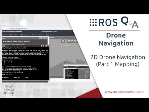 ROS Q&A] 181 - 2D Drone Navigation (Part 1 Mapping) - YouTube