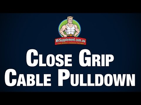 Close Grip Cable Pulldown