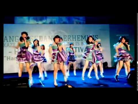 Mini Concert Kazewa Fuiteiru Hanshake Fest part3 - JKT48 Team J Simpati Gravitasi