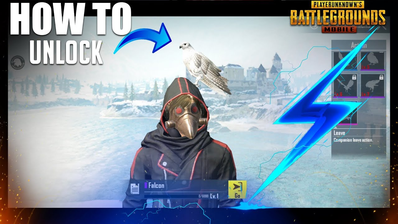 Download How to unlock Falcon (Companion) Pubg Mobile
