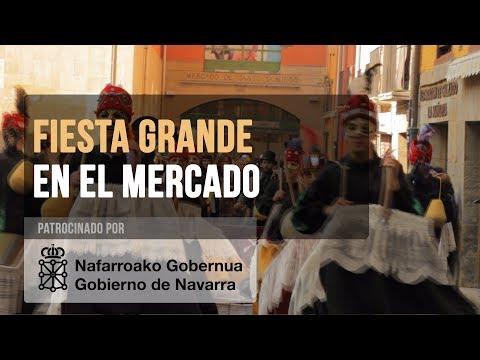 Fiesta en el Día de Caldereros - Mercado de Santo Domingo - Pamplona